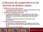 l annuaire de jurisprudence et de doctrine du qu bec suite2
