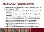 rejb dcl jurisprudence