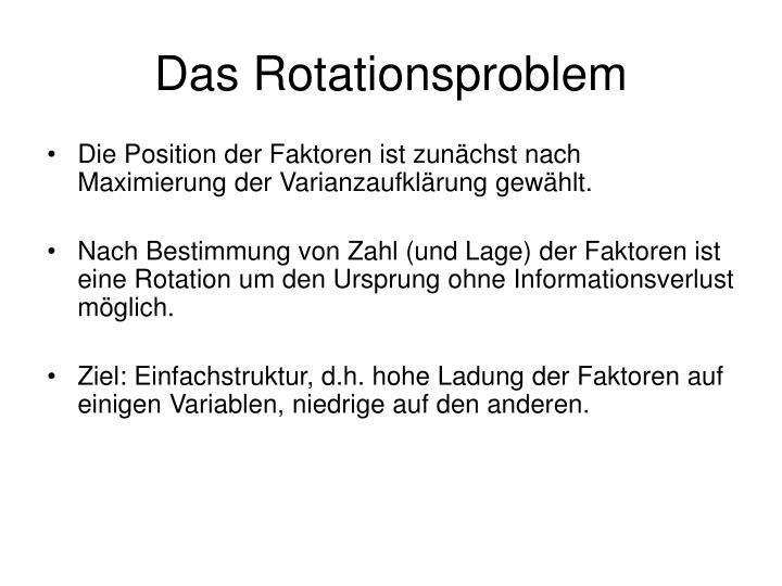Das Rotationsproblem