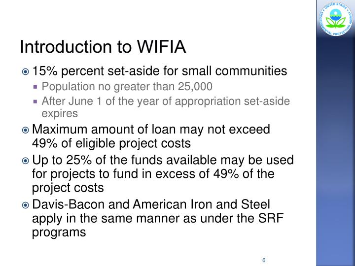 Introduction to WIFIA
