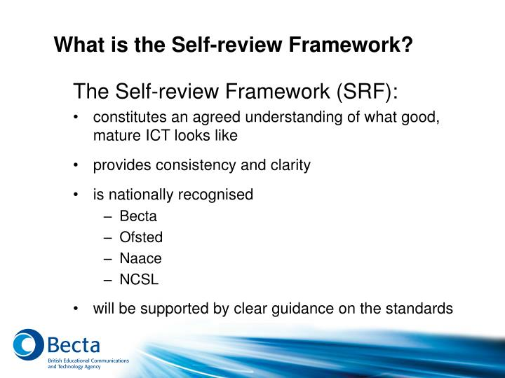 What is the Self-review Framework?