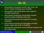 skl sd1