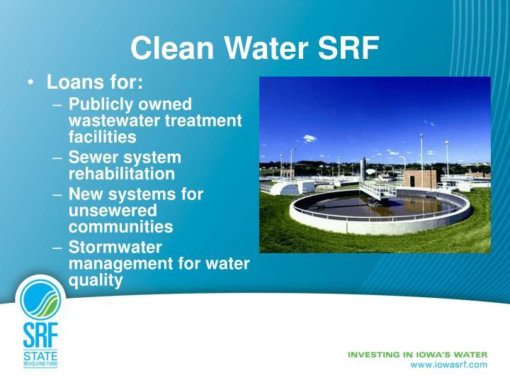 Clean Water SRF