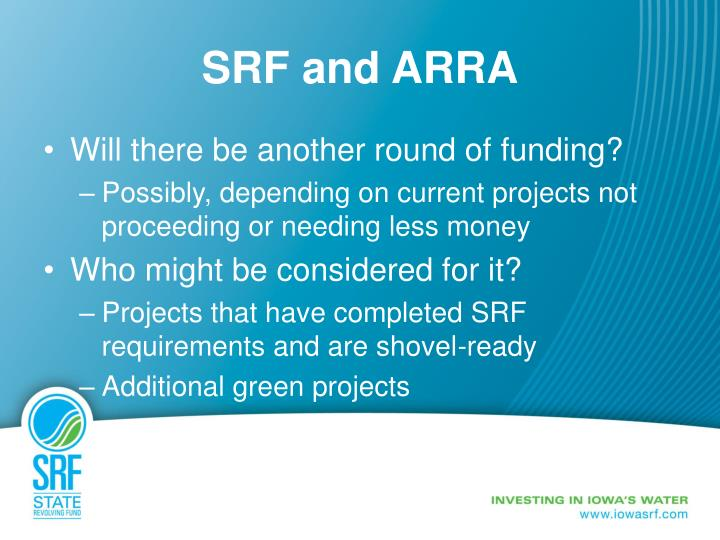 SRF and ARRA