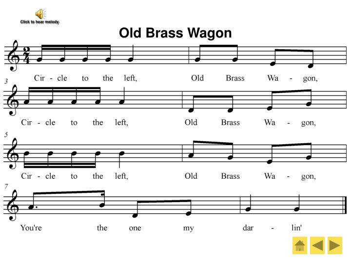 Old Brass Wagon