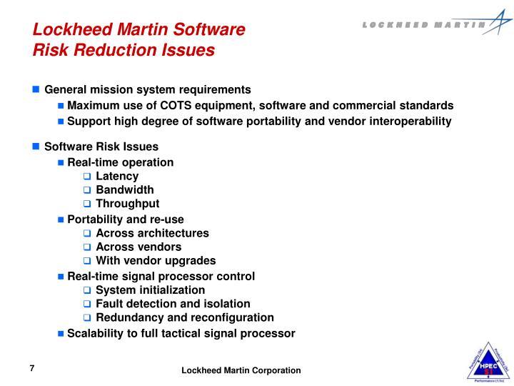 Lockheed Martin Software