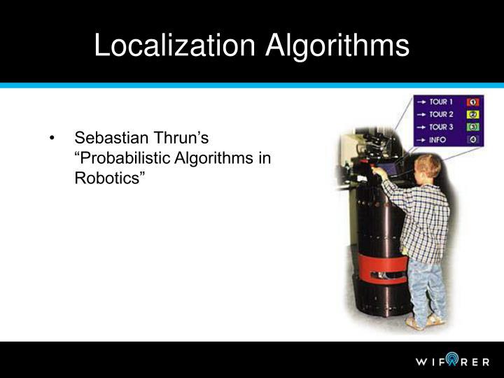 Localization Algorithms
