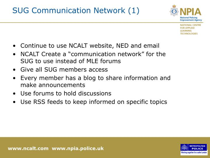 SUG Communication Network (1)