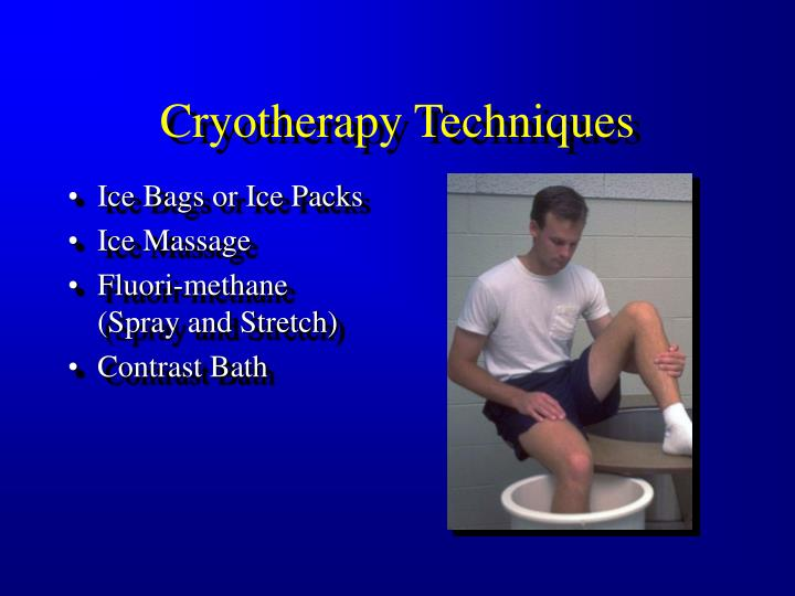 Cryotherapy Techniques