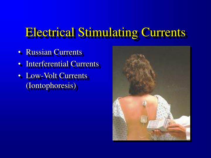 Electrical Stimulating Currents