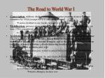 the road to world war i1