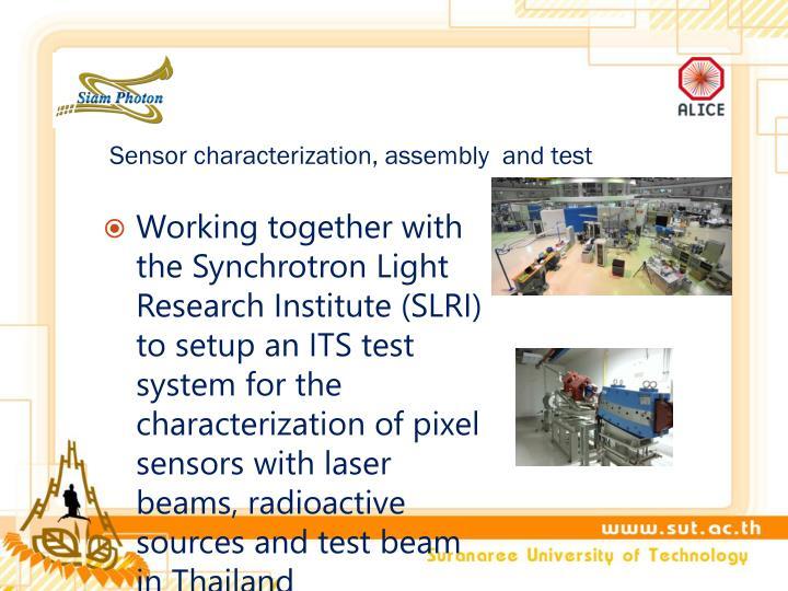 Sensor characterization,