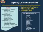 agency one on one visits