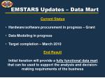 emstars updates data mart3