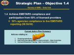strategic plan objective 1 4