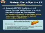 strategic plan objective 5 3