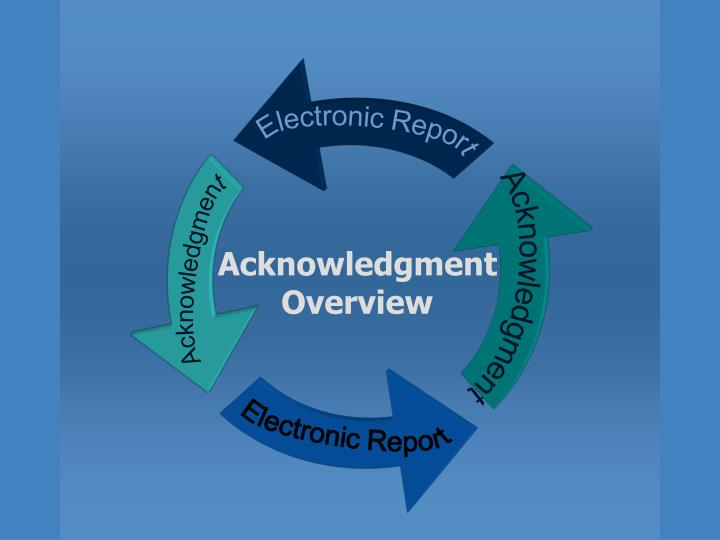 Electronic Report