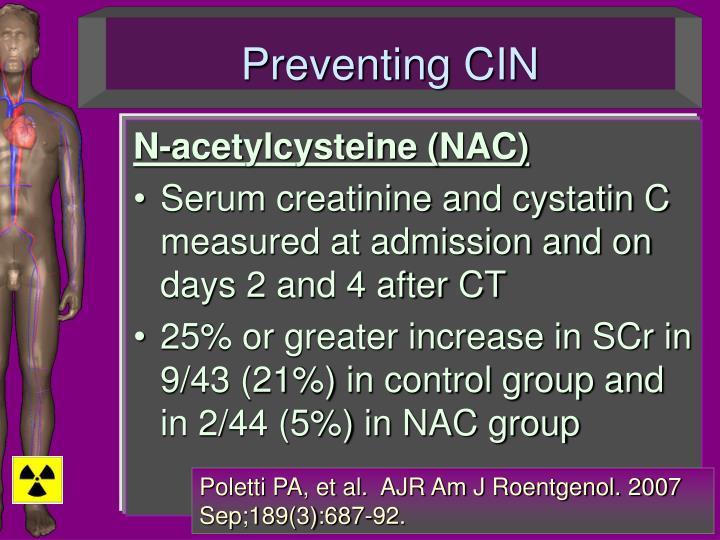 Preventing CIN