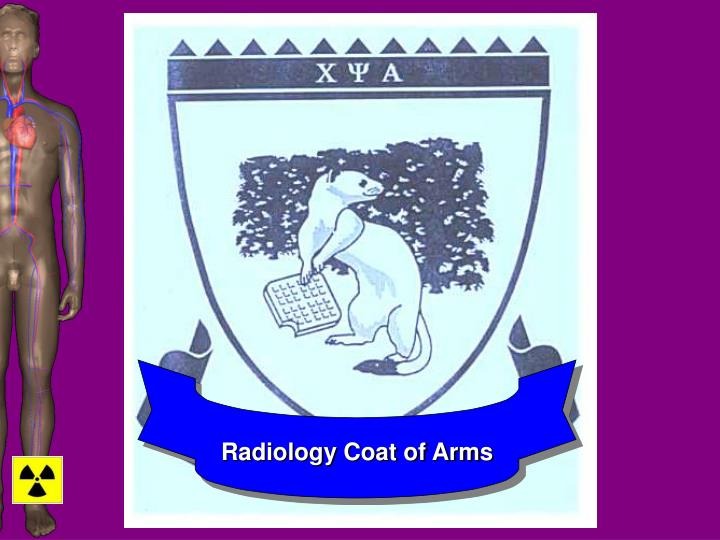 Radiology Coat of Arms