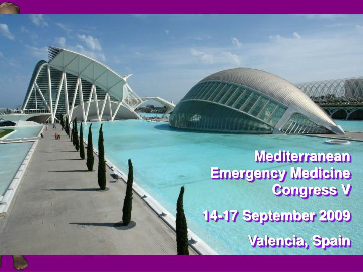 Mediterranean Emergency Medicine Congress V