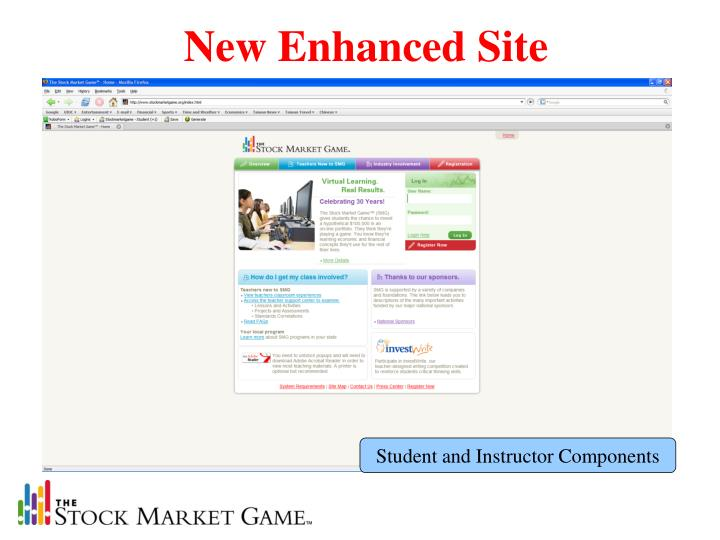New Enhanced Site