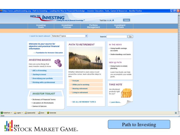 Path to Investing