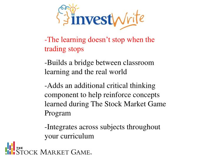-The learning doesn't stop when the trading stops