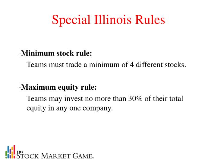 Special Illinois Rules