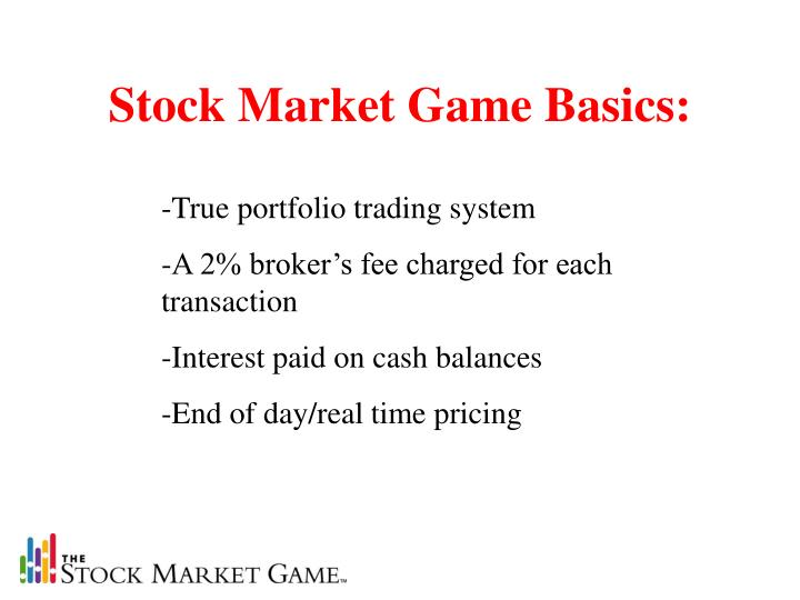 Stock Market Game Basics: