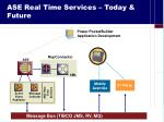 ase real time services today future
