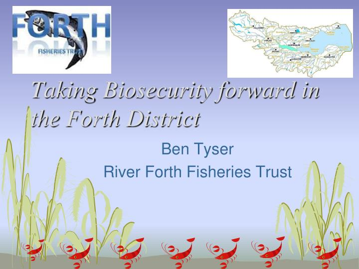Taking biosecurity forward in the forth district