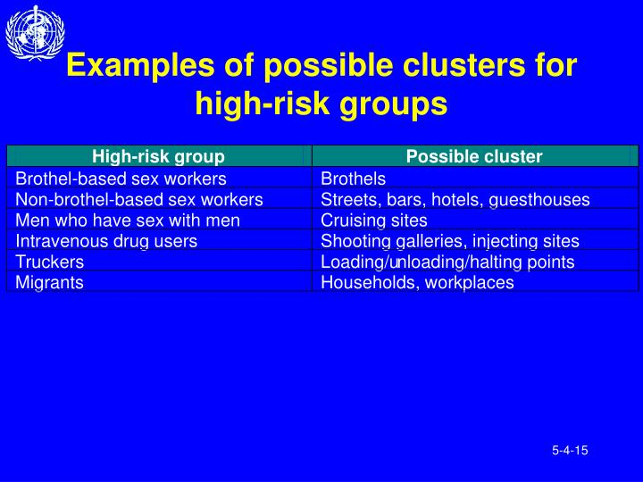 High-risk group