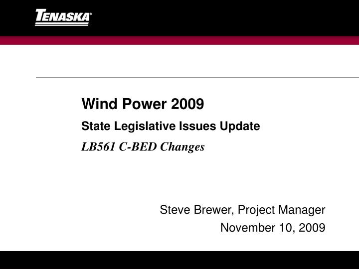 Wind Power 2009
