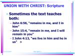 union with christ scripture1