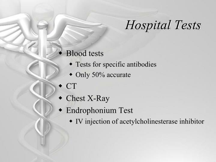 Hospital Tests