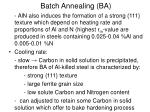 batch annealing ba3