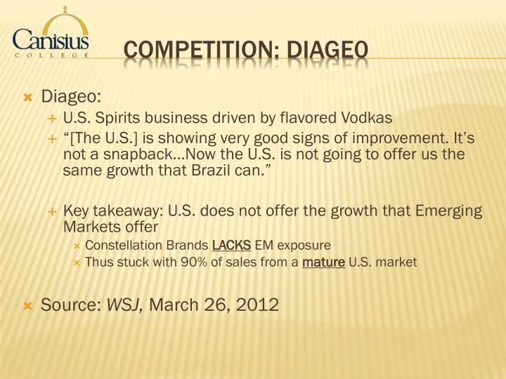 Diageo: