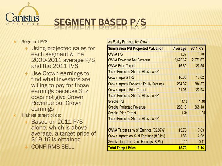 Segment P/S