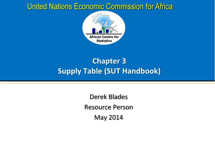 chapter 3 supply table sut handbook n.