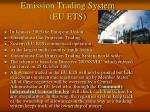 emission trading system eu ets
