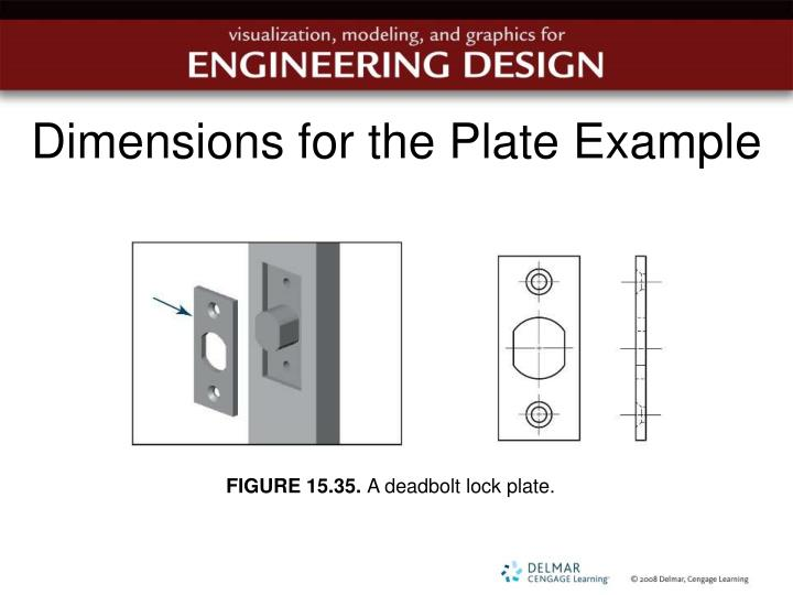 Dimensions for the Plate Example