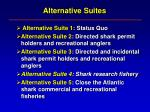 alternative suites