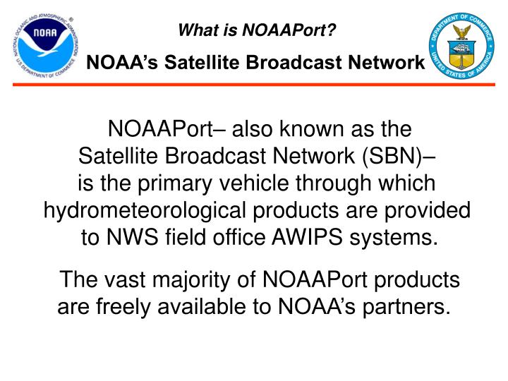 What is NOAAPort?