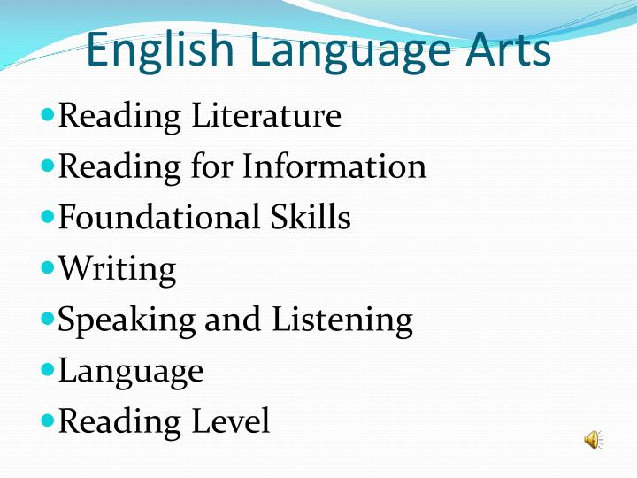 English Language Arts
