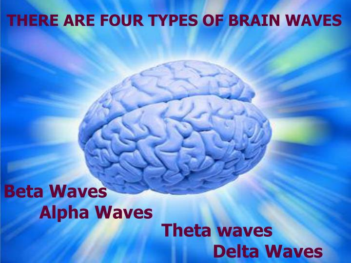 THERE ARE FOUR TYPES OF BRAIN WAVES