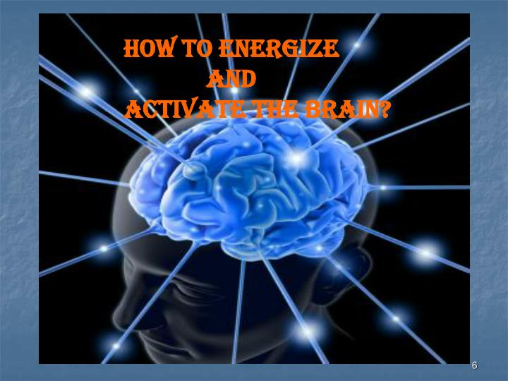 How to Energize