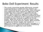 bobo doll experiment results1