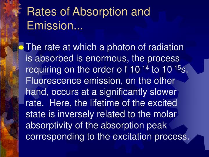 Rates of Absorption and Emission...