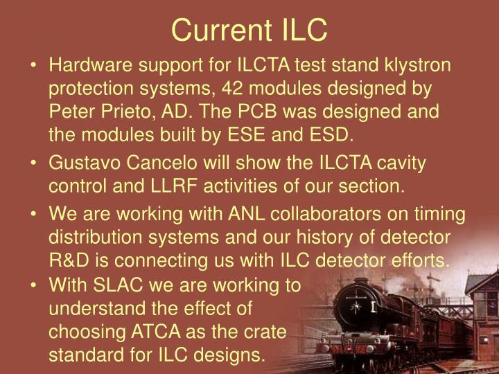 Current ILC