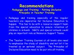 recommendations pedagogy and training putting inclusive principles in teacher training